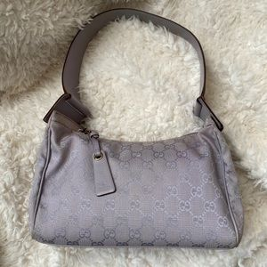 Gucci monogram lilac bag